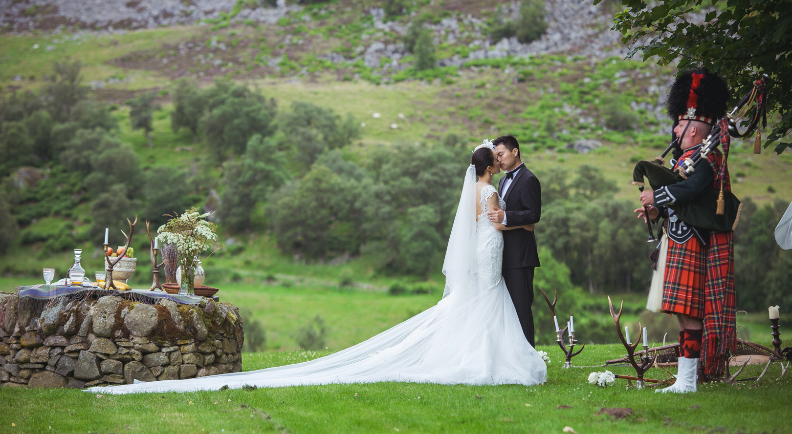 Weddings at Forter Castle